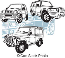 Land rover defender 90 Vector Clip Art Illustrations. 1 Land rover.