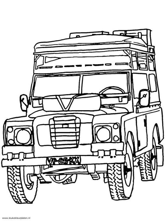 land rover clipart