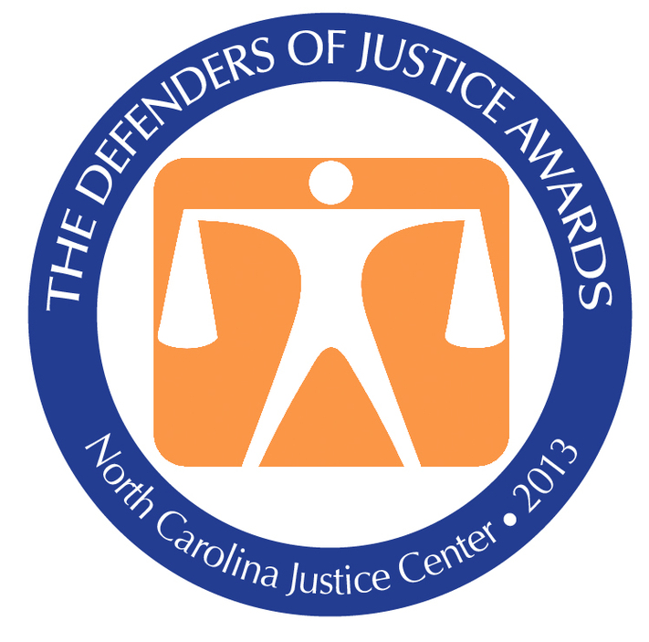 Equality NC Receives Defenders Of Justice Award Clipart.