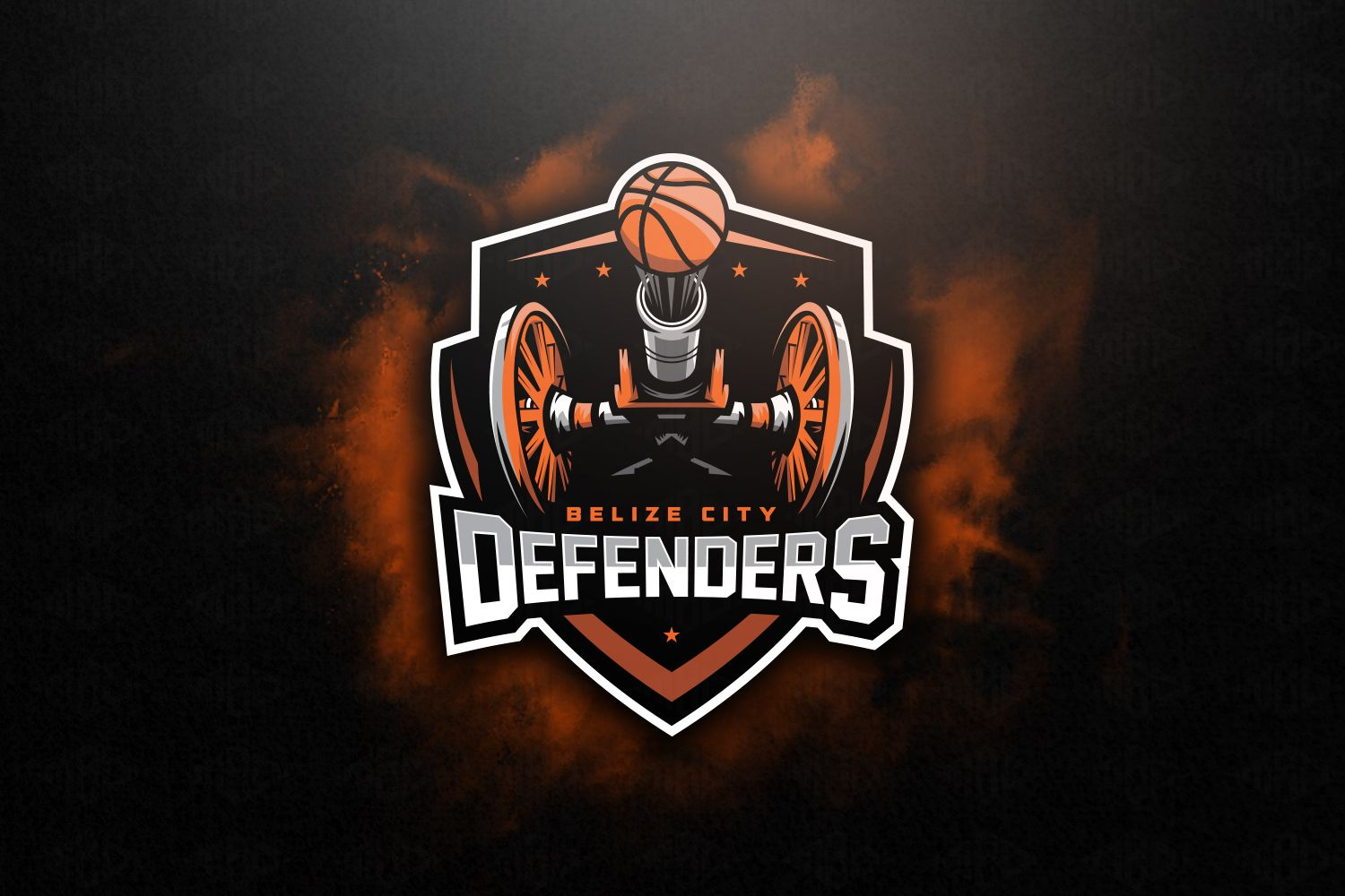 Logo that i created for Belize city Defenders!.