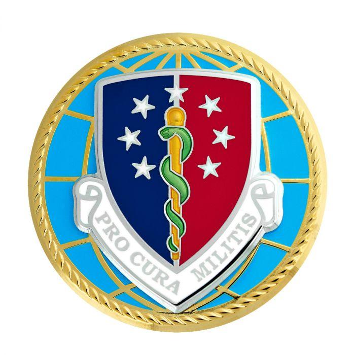 Badge Defense Health Agency Full Size Medal.