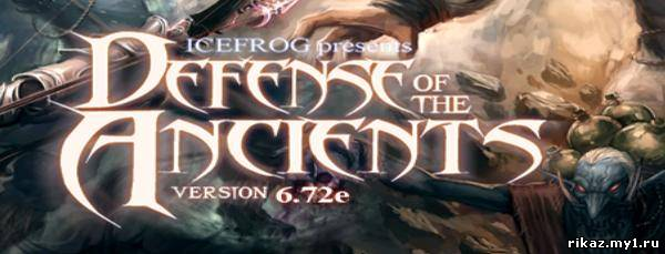 Dota Defence of the Ancients Font.