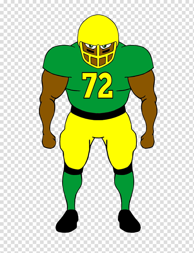 Football Player Defense transparent background PNG clipart.