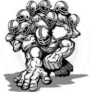 Image result for football lineman clipart.