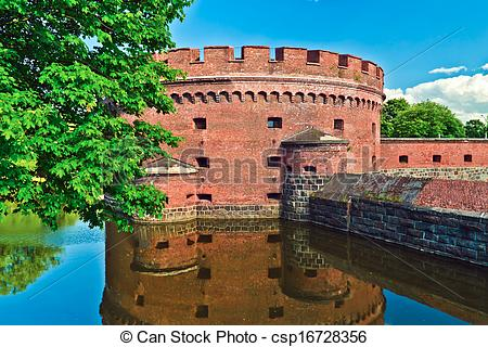 Stock Images of Defensive tower Dona (german: Der Dohna) of.