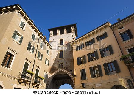 Stock Image of Defensive Tower.