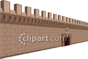 Realistic Castle Wall.