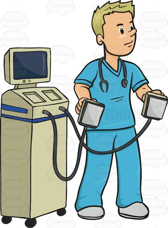 Defibrillator Clip Art.