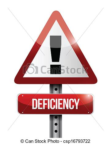 Deficiency Illustrations and Stock Art. 978 Deficiency.
