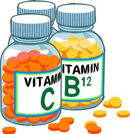 Vitamin Deficiency Clipart.