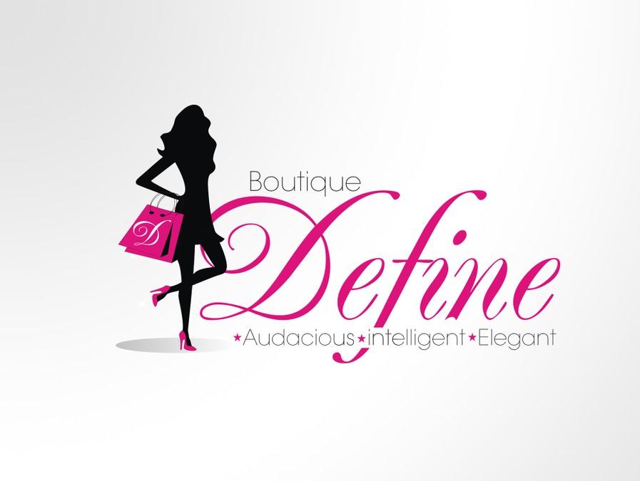 logo for Boutique Define.