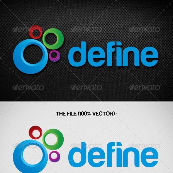 Denied Define Logo Template from GraphicRiver.