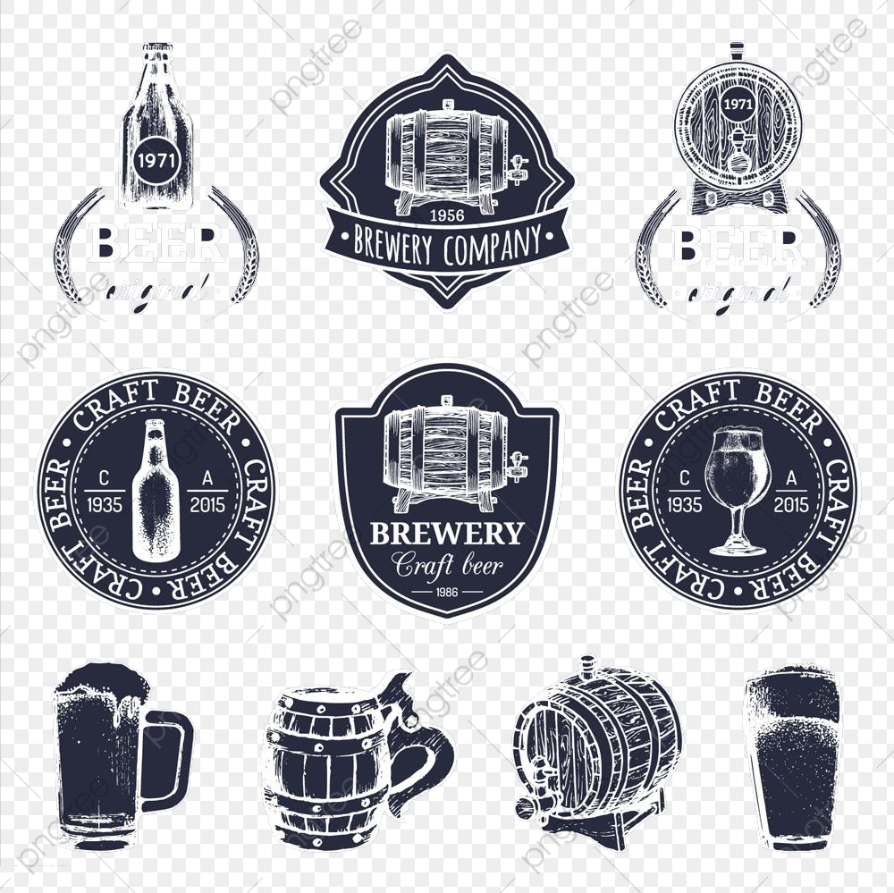 Icon Beer Bucket High Definition Buckle Material, Beer Clipart, Icon.