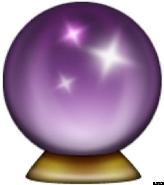 Crystal Ball Cartoon.
