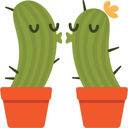 Community Post: A Definitive Ranking Of Facebook's Cactus Stickers.
