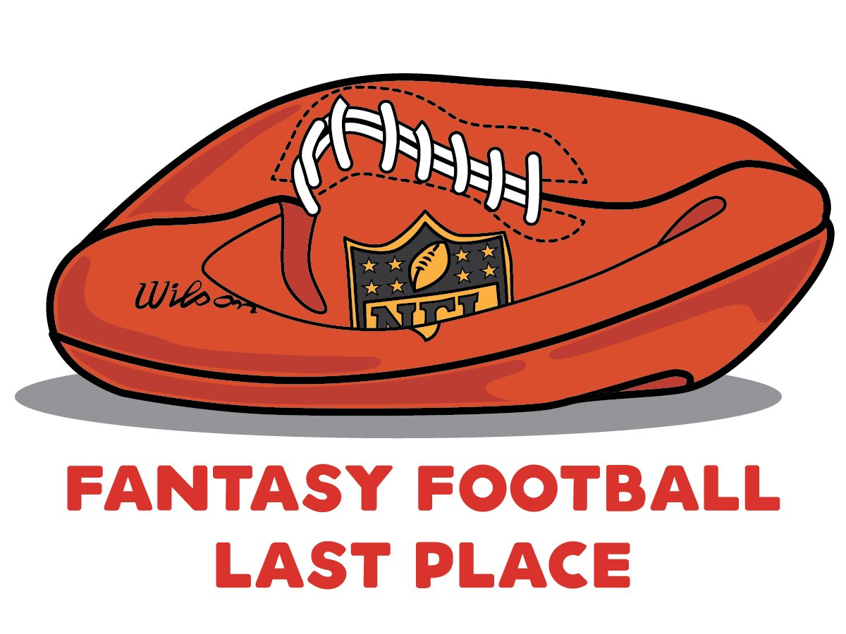 Fantasy Football Loser Temporary Tattoo.