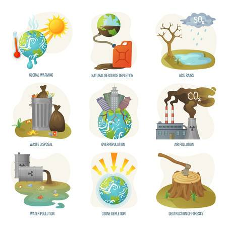 1,781 Deforestation Stock Illustrations, Cliparts And Royalty Free.
