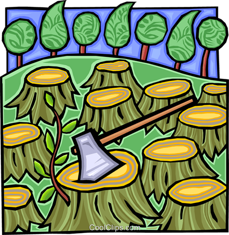Deforestation on emaze.