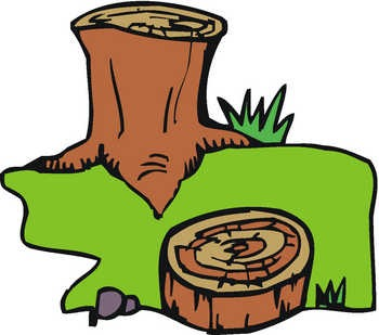 Deforestation Clipart Page 1.
