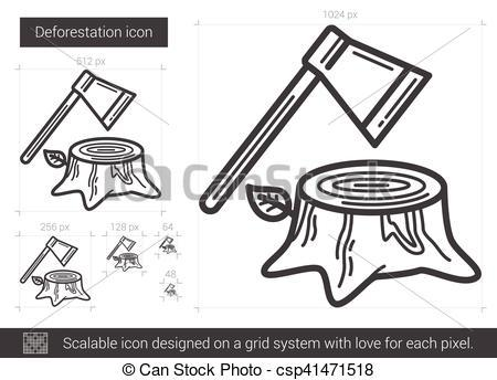 Deforestation clipart black and white 4 » Clipart Portal.