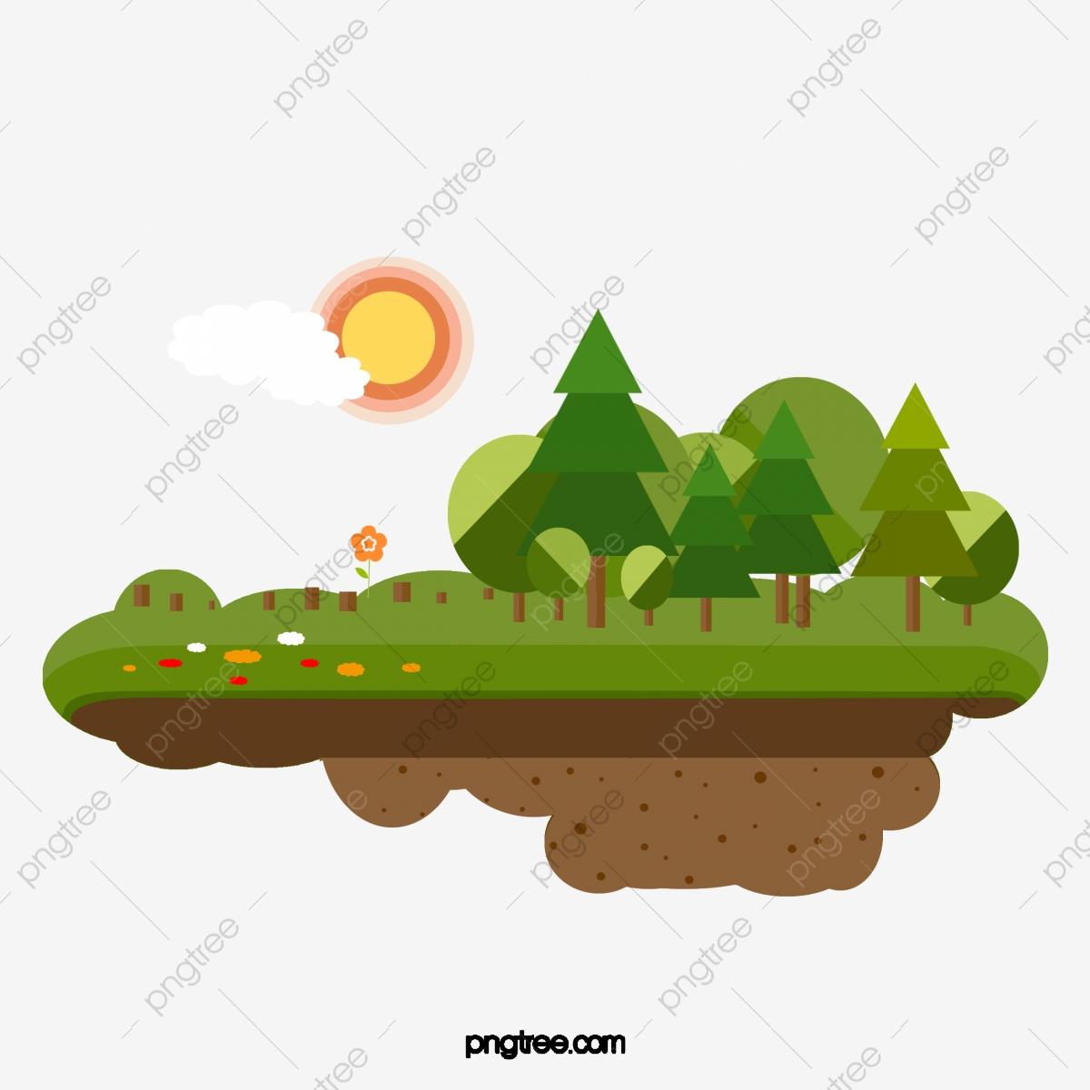 Decorative Deforestation, Decoration, Deforestation, Vector PNG and.