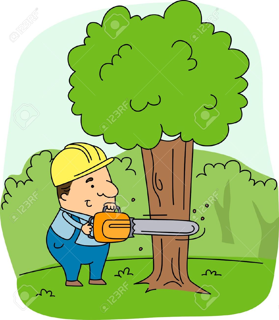 Deforestation clipart 8 » Clipart Station.