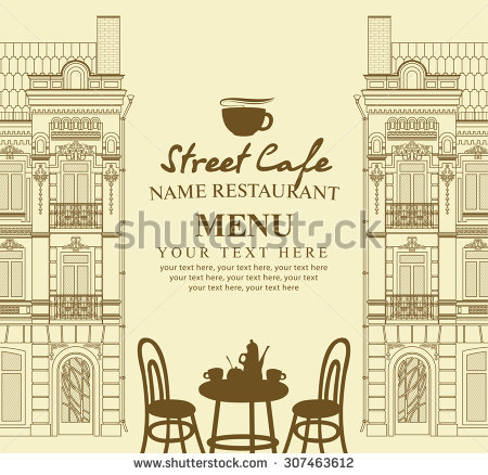 Invitation Card Welcome Cute Town Home Stock Vector 119833747.