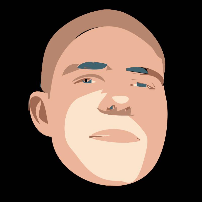 Free Clipart: Rejon avatar degrade.