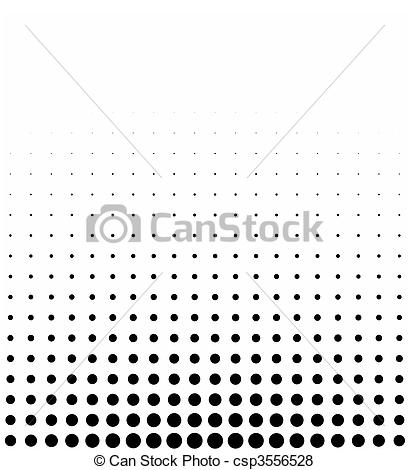 Stock Illustration of graphical black and white gradient in mezzo.