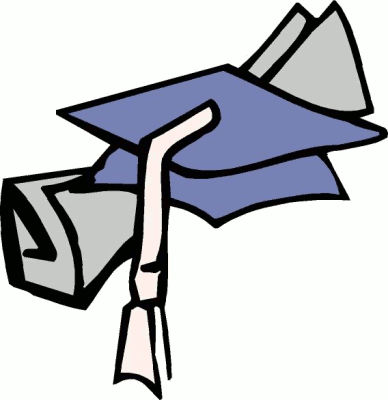 College degree clipart.