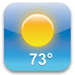 73 Degrees Icon, PNG ClipArt Image.