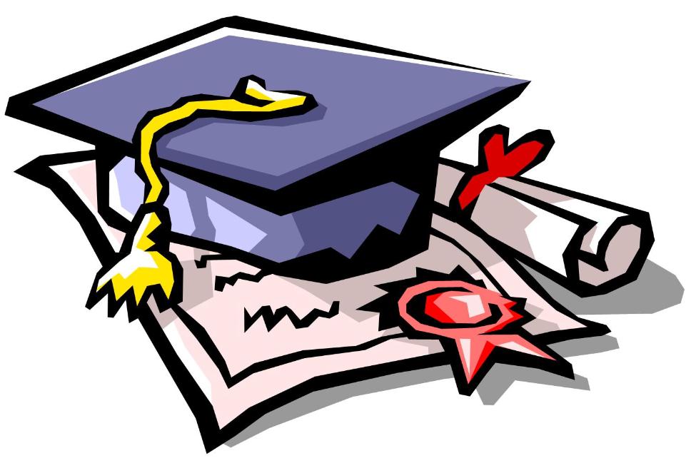 College Degree Clipart.