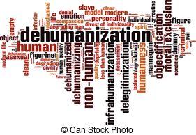 Dehumanization Vector Clip Art Illustrations. 78.