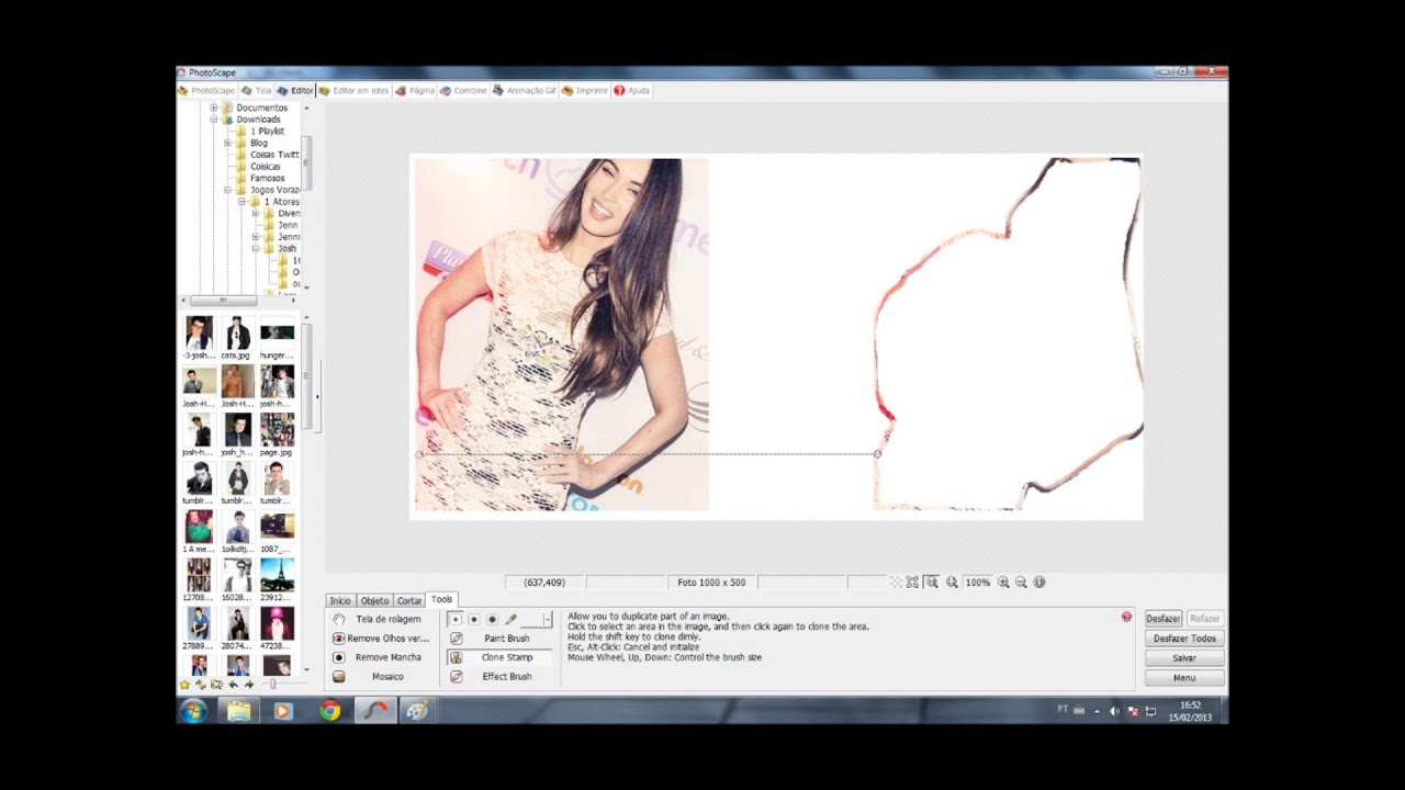 Como fazer PNG no PhotoScape.