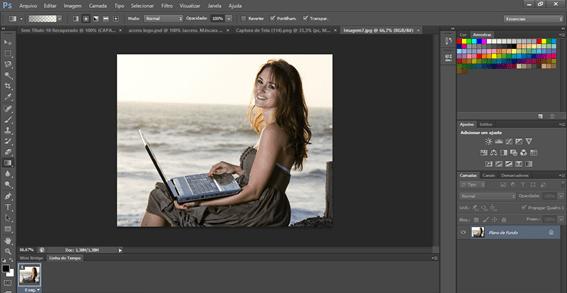 Como deixar uma foto em Preto e branco no Photoshop.