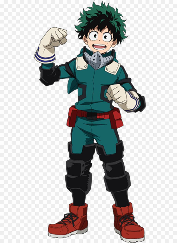 My Hero Academia Deku PNG Izuku Midoriya All Might Clipart download.