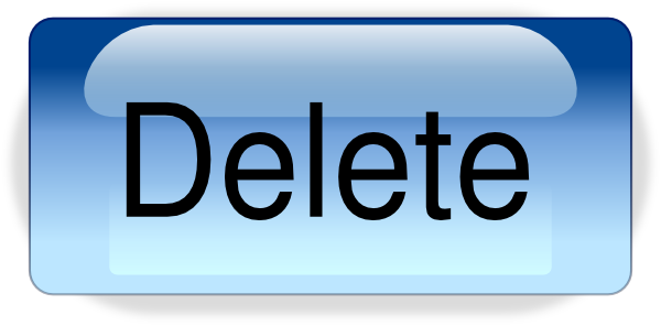 Delete Button Clipart.