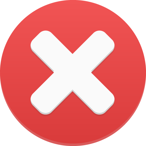 Delete Circle Icon.