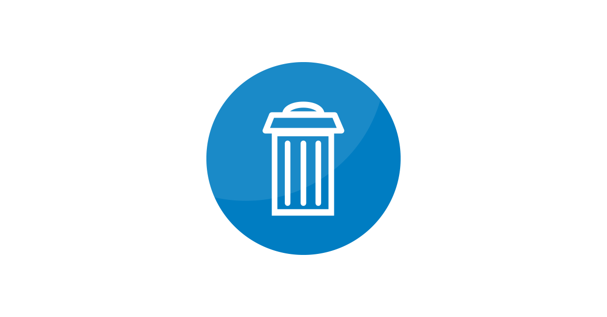 Delete Icon Vector and PNG.
