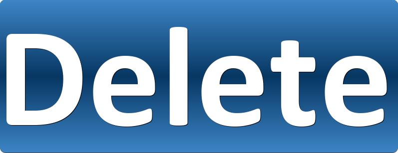 Delete Button PNG Transparent Images, Pictures, Photos.