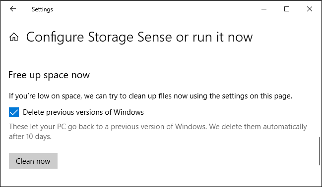 How to Free Over 10GB of Disk Space After Installing Windows 10's.