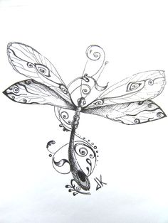 Detailed and pretty dragonflies! These would be beautiful with.
