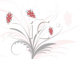 Delicate Flower Clip Art.