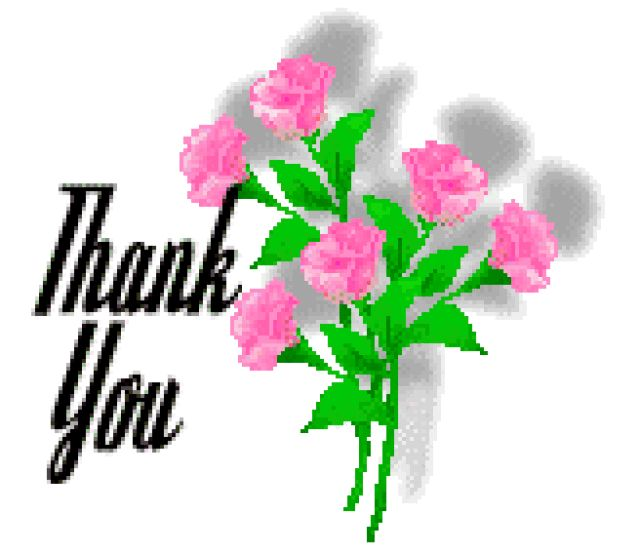 """Clip Art For You To Say """"Thank You""""."""