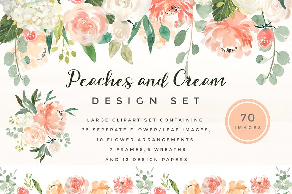 Delicate Pink Peach Flower Clipart 20 Free Cliparts