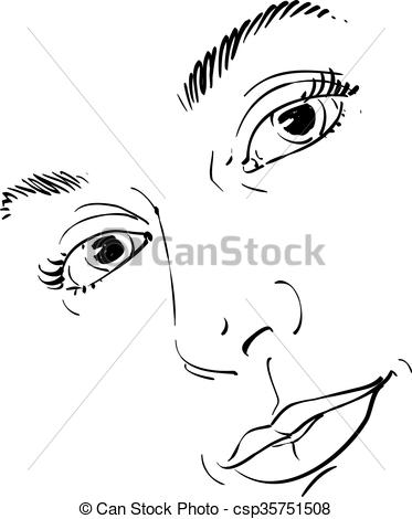 Vector Clipart of Hand.