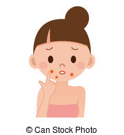Acne Illustrations and Clipart. 795 Acne royalty free.