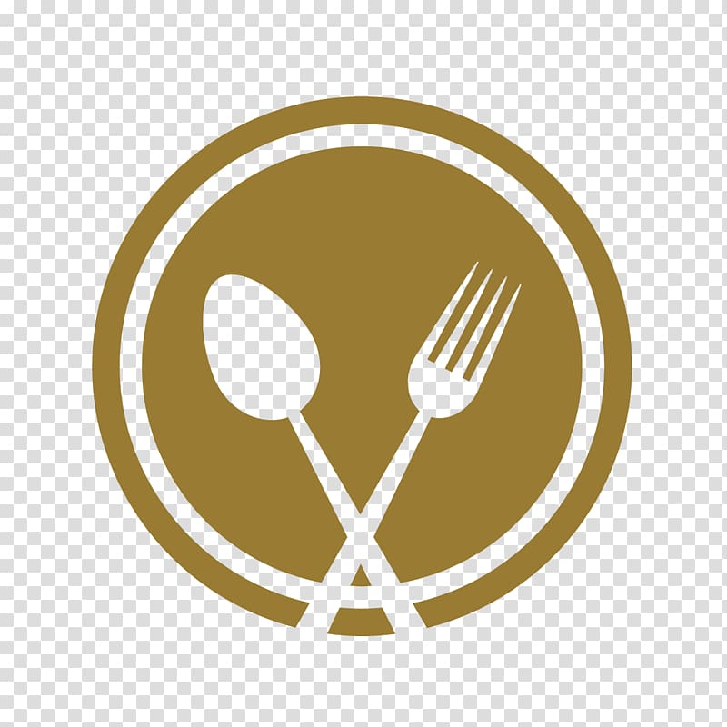 Dining logo, Knife Fork Spoon Kitchen utensil Plate, delicious.