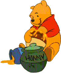 Winnie The Pooh Clipart Delightful Day.