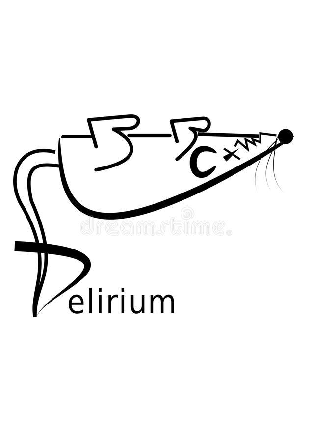 Delirium Stock Illustrations.